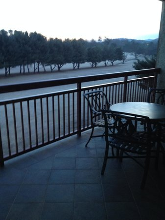 RiverStone Resort & Spa: Balcony