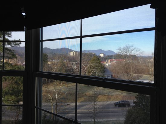 RiverStone Resort & Spa: look at that view from the dining room window