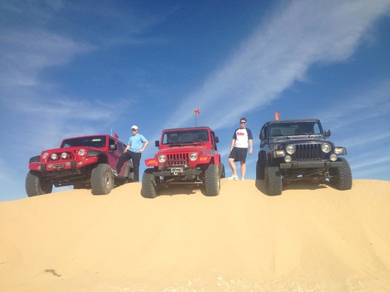 Las Vegas Rock Crawlers : the dunes!