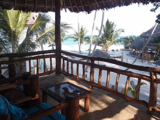 Waterlovers Beach Resort: View from our room