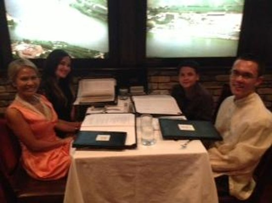 The four of Us at Bern's Steak House