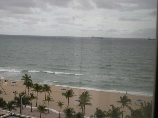 "Courtyard Fort Lauderdale Beach: ""water view"" from room"