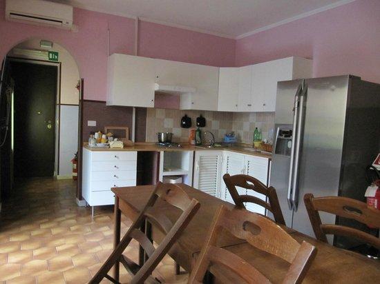 Residenza Giustiniani: Kitchen