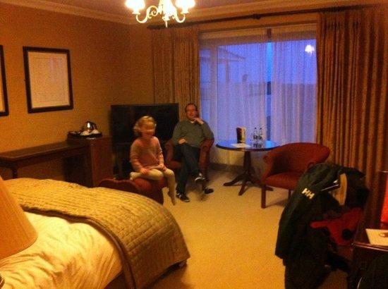 Glenlo Abbey Hotel: suite 316 sitting room