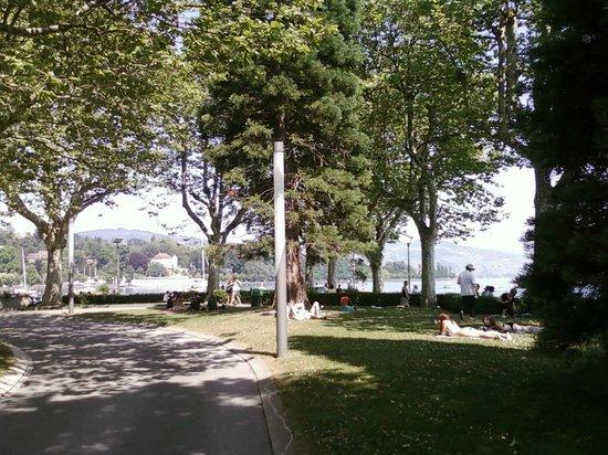 Le Port d'Ouchy : Parc d`Ouchy