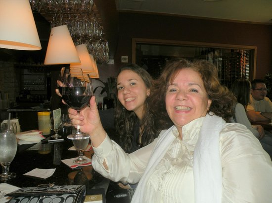 Fogo de Chao Brazilian Steakhouse : Mother and daughter