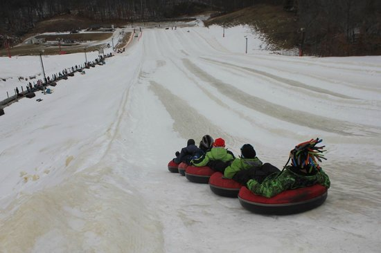 Snow Creek: Going down the hill…Fast!