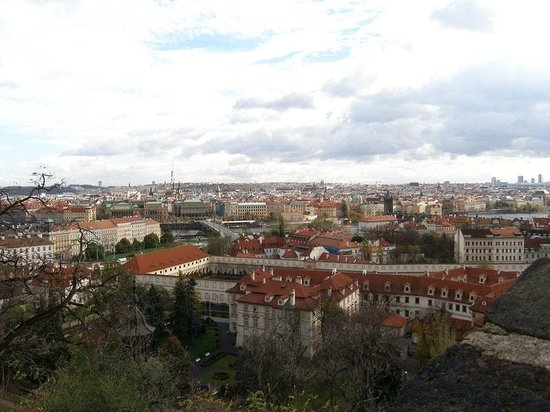 Château de Prague : The view of Prague