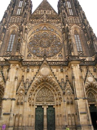 Château de Prague : St.Vitus Cathedral