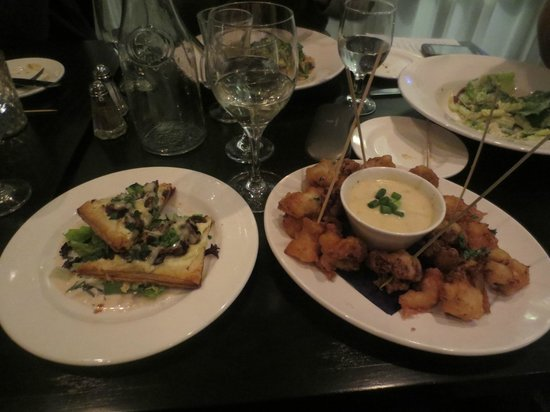 The Silver Birch : appetizers
