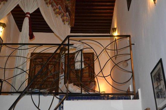 Riad La Cle de Fes : sleeping area - mezzanine
