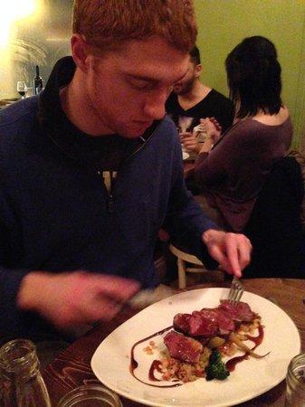 L'Affaire Est Ketchup : Magret de Canard