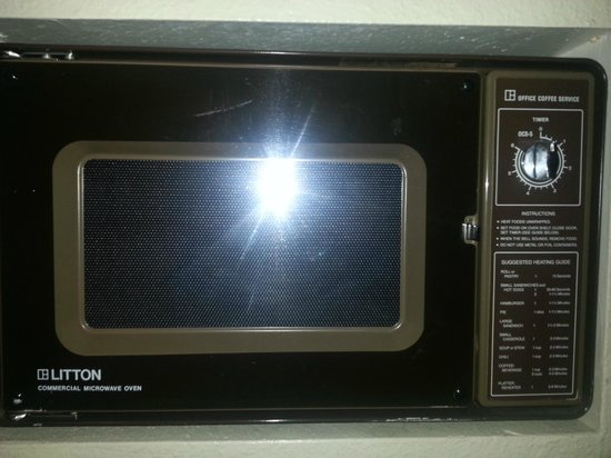 Barcelona Suites: microwave - it really worked!
