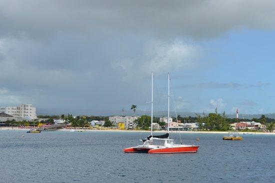 Hilton Barbados Resort: Barbados desde el mar