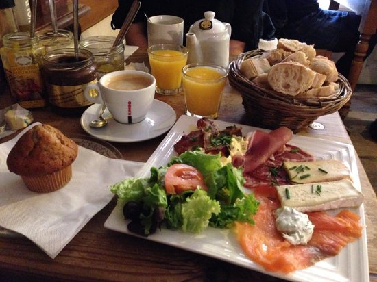 formule brunch - picture of tabl'o gourmand, nantes - tripadvisor