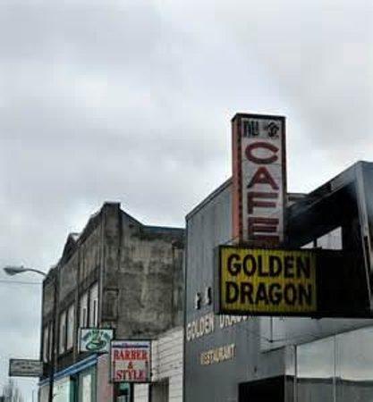 Golden Dragon Cafe: Golden Dragon Restaurant, Hoquiam, Washington