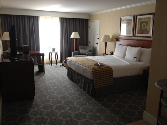 DoubleTree by Hilton Hotel Salt Lake City Airport: King bed room #320