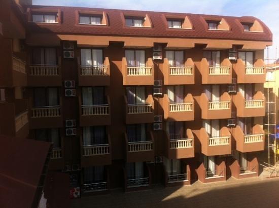 Palmiye Garden Hotel: внутренний двор