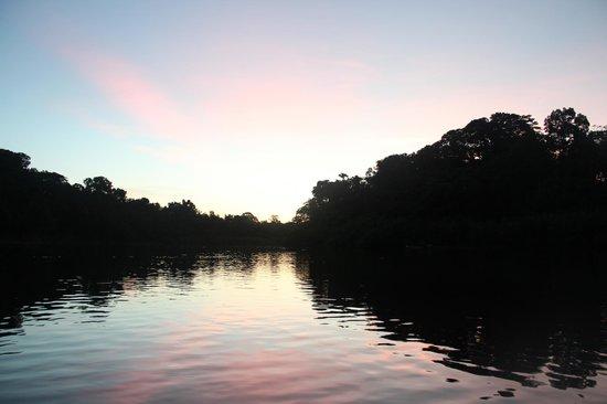 Pacaya Samiria: Atardecer en la selva