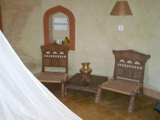 Apani Dhani Eco-Lodge : bungalow