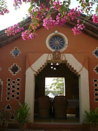 Apani Dhani Eco-Lodge : sala comune