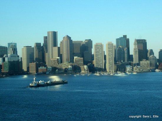 Hyatt Regency Boston Harbor : View of Boston skyline from the room