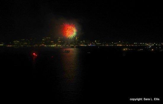 Hyatt Regency Boston Harbor : Fabulous First Night fireworks