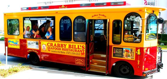 Clearwater Jolley Trolley: Daily Beach Route