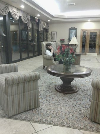 Vero Beach Inn & Suites: Hotel Lobby