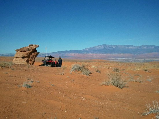 Southern Utah Adventure Center: Beautiful desert scapes