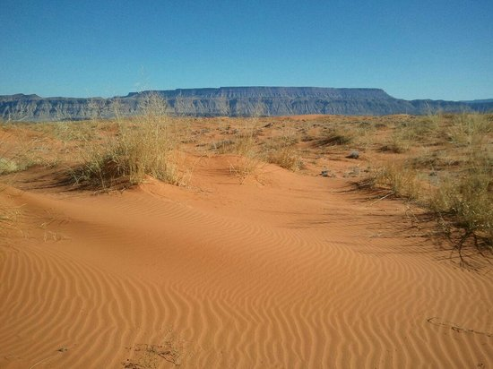 Southern Utah Adventure Center : Pristine Sand!