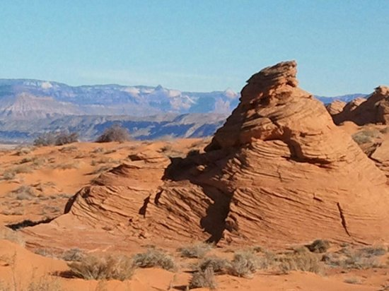 Southern Utah Adventure Center: Fun rock formations to climb!