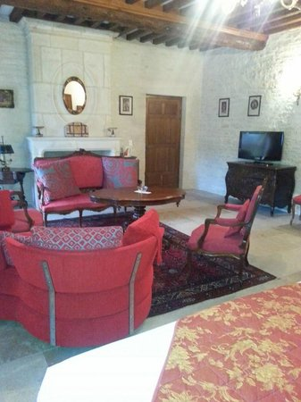 "Le Manoir de Mathan: Just ""half"" of my enormous suite"