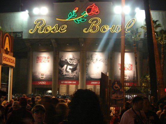 Rose Bowl Stadium: End of a great experience!