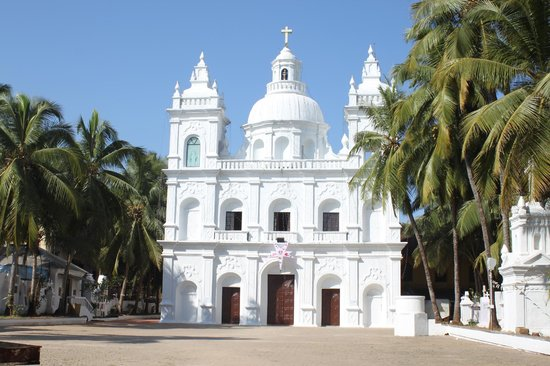 Calangute, India: St Alex Church