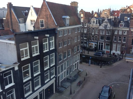 Radisson Blu Hotel, Amsterdam: Our room view. From executive 506.
