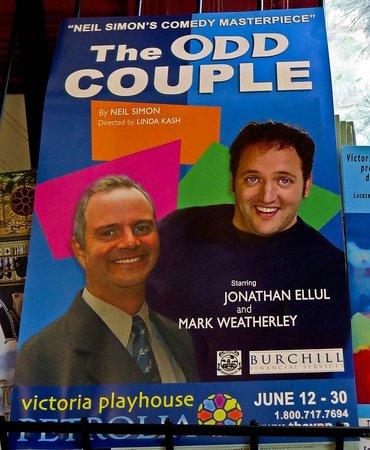 Victoria Playhouse Petrolia: The Odd Couple, photo by Mike Keenan