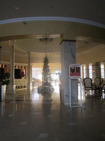 Hotel Abou Sofiane: reception area