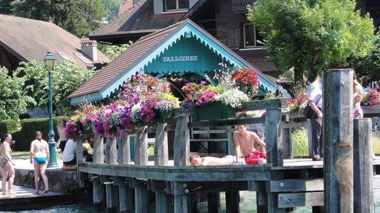 Camping Le Verger Fleuri: rondvaart op het meer
