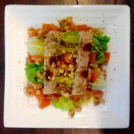 Zurito Cafe Bar: Ensalada de ventresca con miel de palma