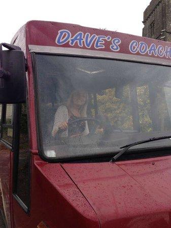 Brit Movie Tours: Me driving woo hoo!