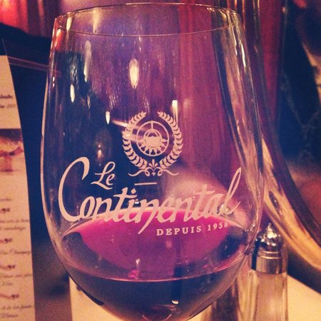 Le Continental: Wine and dine.