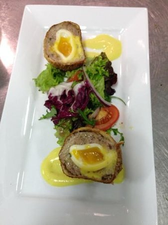 The Lord Nelson: scotch egg anyone?