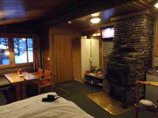 Lapland Hotel Akashotelli : inside log cabin