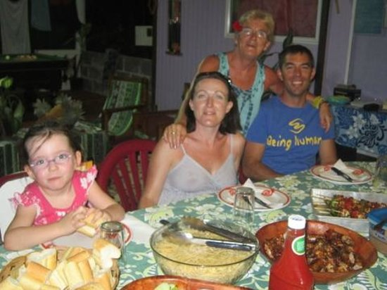 Pension Tereia : Moments en famille