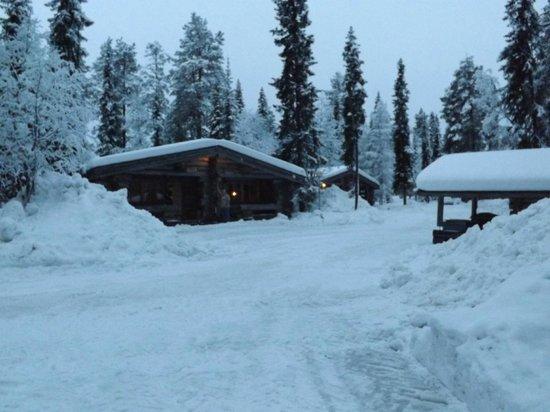 Lapland Hotel Akashotelli : log cabin