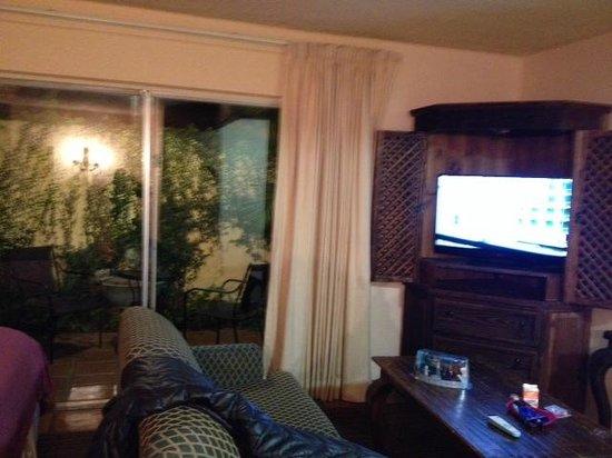 Hotel Pepper Tree: sala y TV