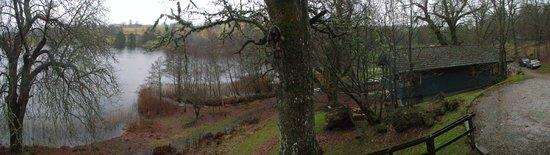Loch Monzievaird Self Catering Lodges: panoramic view