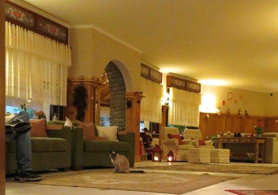 Hotel das Hortensias: Sala de espera