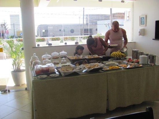 Hotel Belo Horizonte: Café da manhã